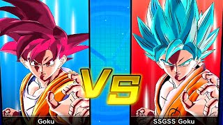 Dragon Ball Xenoverse SSG Goku Vs SSGSS Goku Gameplay [60FPS 1080p]