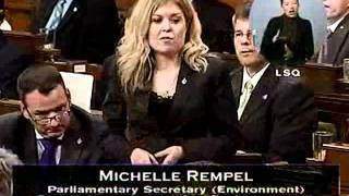Question Period, 20 October 2011 (Parliament of Canada): The Environment