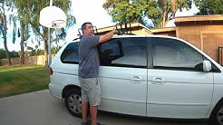 Kayak Roof Rack Installation for 2004 Honda Odyssey Minivan