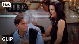 Friends: Chandler's Caught Smoking (Season 1 Clip) | TBS