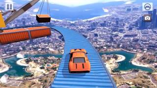 impossible death track  furious car stunt racing trailer video