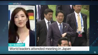 State of global economy topped the agenda in G7 Summit, Mayu Yoshida reports