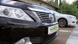 Драг-битва Honda Accord 2013 vs Toyota Camry