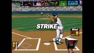 MLB Pennant Race ... (PS1) 60fps