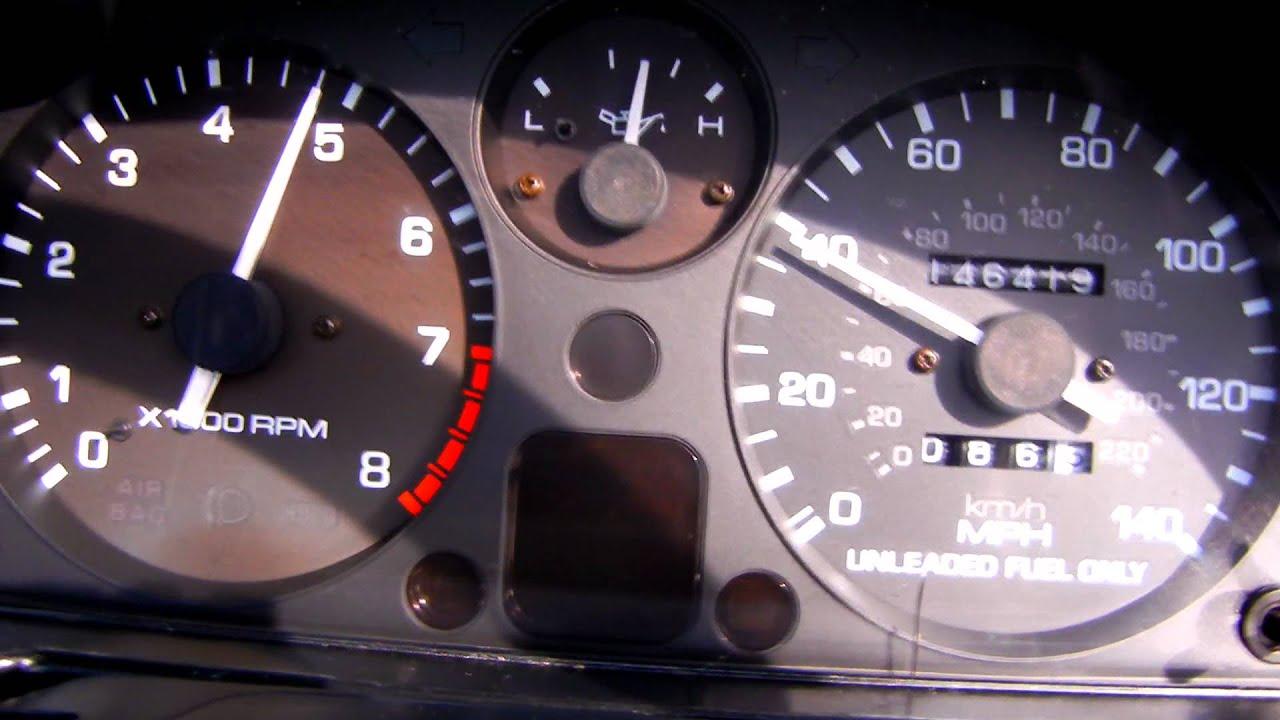 Mazda Miata 95 0 60 run