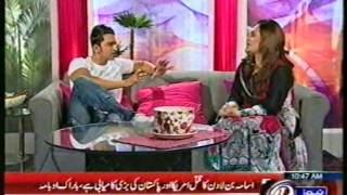 Dr Najjia Ashraf at PTV NEW TV ONE NEWS HEALTH TV PART 01.mp4