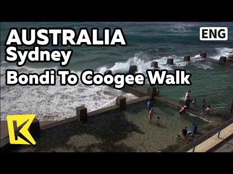 【K】Australia Travel-Sydney[호주 여행-시드니]해안 산책로 본다이 쿠지/Bondi To Coogee Walk/Coogee Beach/Coast Walk