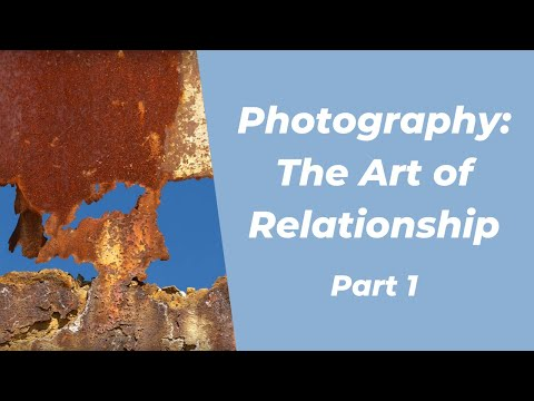 Photography: The Art of Relationship (Part 1 of 4) - Dr. John Diamond