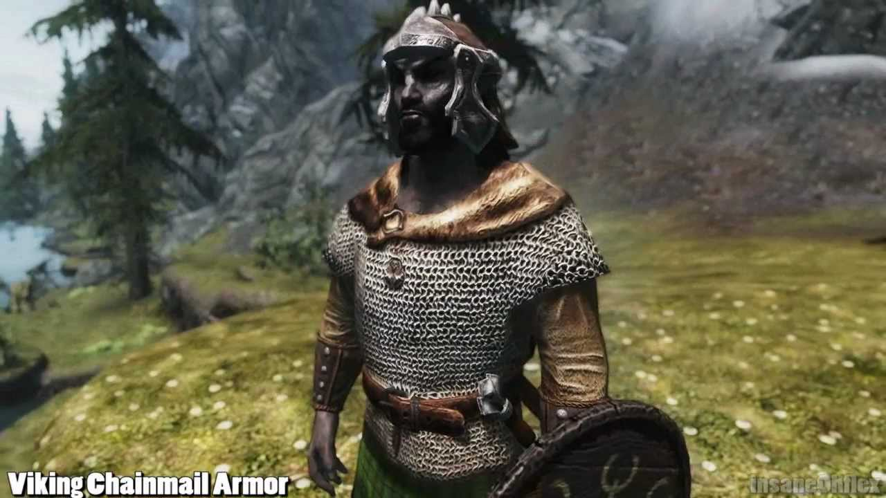 Skyrim Mod Feature: Viking Chainmail Armor - by ... | 1280 x 720 jpeg 94kB
