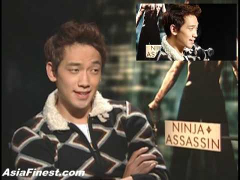 Korean Rain Bi 비 Ninja Assassin Movie Interview In New York City