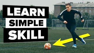 This first touch skill will beat ANY defender
