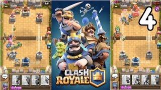 Clash Royale - REACHED LVL 3 + 500 TROPHIES!