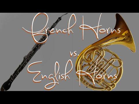 French Horns vs. English Horns
