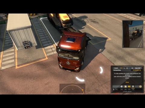 Euro Truck SImulator 2 | Freight Market Zurich to Bari