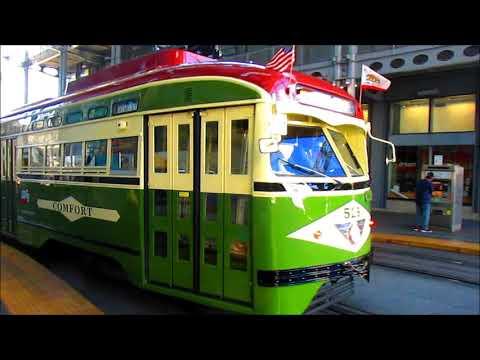 11/4-5/17 light rail trains in San Diego and Los Angeles/Long Beach by JonRailVideos