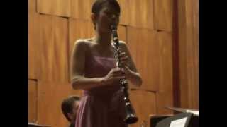 Mozart: Concerto for Clarinet and Orchestra A major, 1st Mvt: Allegro, Yumi Ito, Clarinet