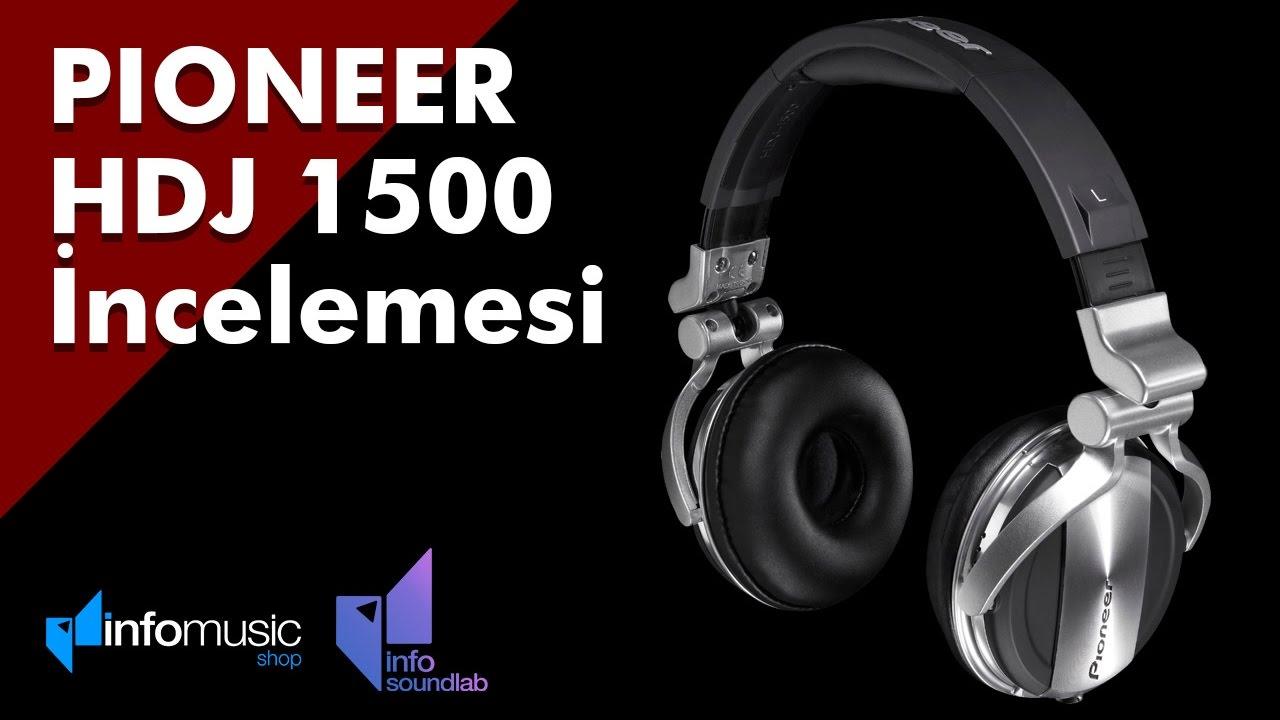 pioneer hdj 1500. pioneer hdj 1500 dj kulaklığı Ürün İncelemesi hdj