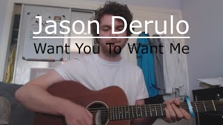 Want to Want Me - Jason Derulo (Beginners Guitar Lesson/tutorial) with Ste Shaw