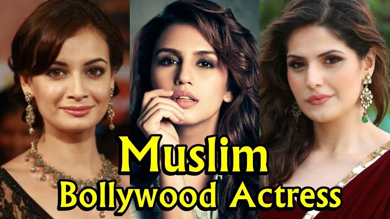 top 10 cute muslim bollywood actress - youtube