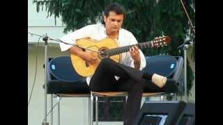 Martin Bies - flamenco - Uherský Brod - zahrada Panského domu 2. 8. 2012