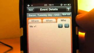 SUP! Events Planning Application for the iPhone (HD Review)