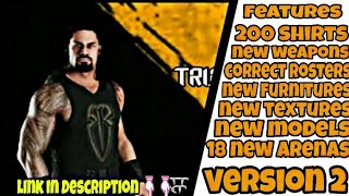 Wr3d 2k19 mod | version 2 | officially launched | by cool abrar
