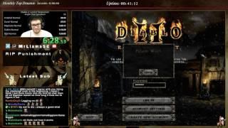 Diablo 2 - 4v4 Protect Andariel Duel!