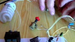 Енергозберігаюча лампа від 12 вольт (Energy saving lamp of 12 volts)