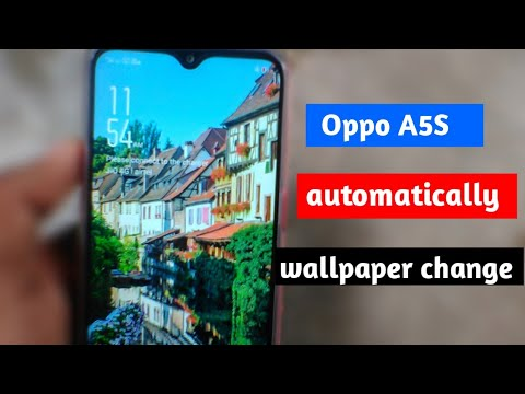 Oppo A5s Automatically Wallpaper Change | Oppo A5s Me Automatically Wallpaper Change Ko Kaise Lagaye