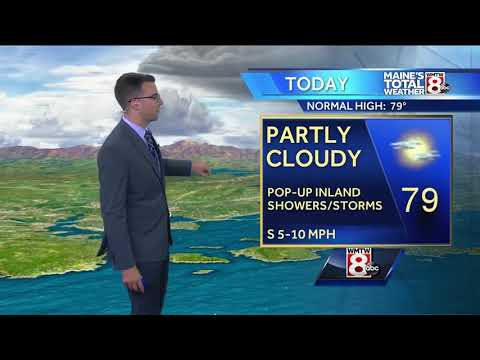 Sun, clouds for Friday with showers arriving Saturday