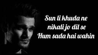 Yeh Pyar Ho Na Khatam Lyrics   Yasser Desai (Web Series Zakhmi)   Deepali Sathe
