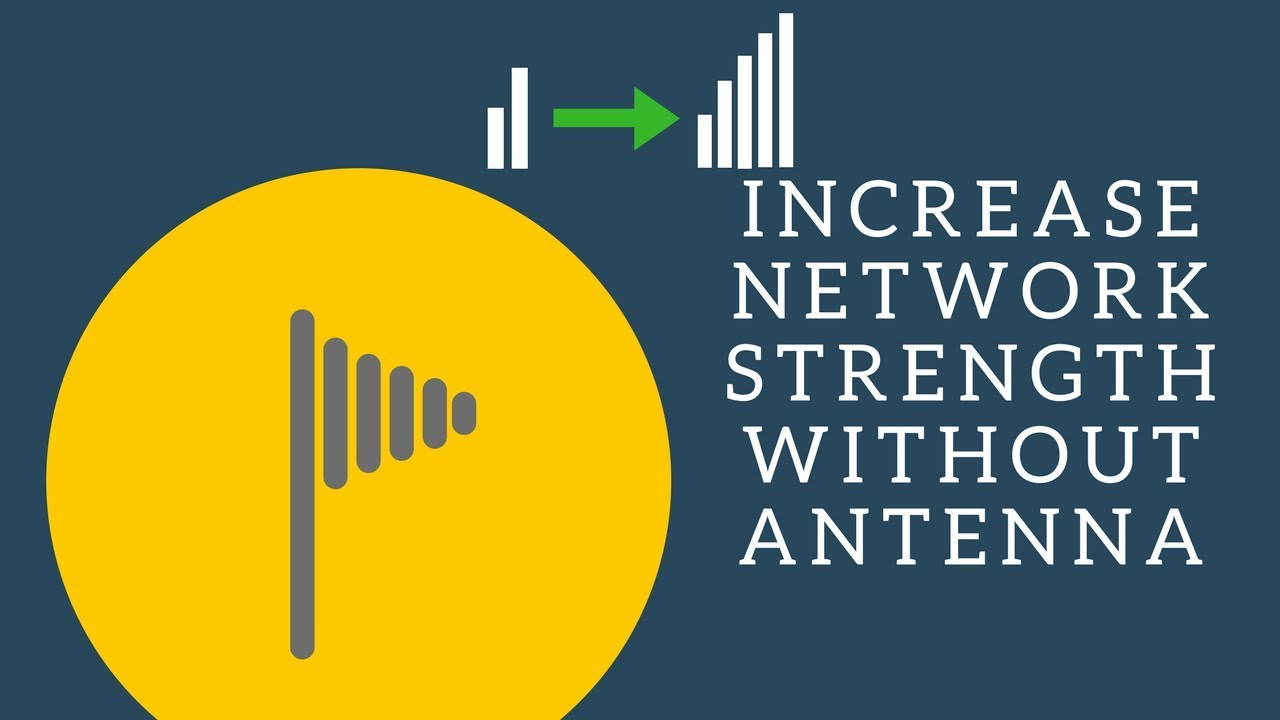 Increase 3G 4G LTE network signal strength in ZTE MF29 | No external antenna