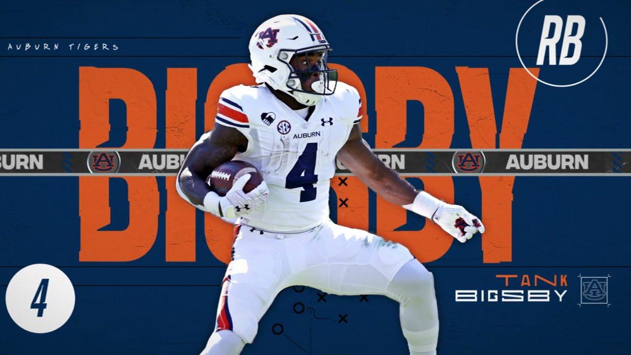 Auburn RB Tank Bigsby's highlight reel 🔥 | ESPN College Football