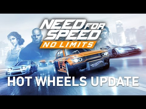 Need for Speed No Limits Hot Wheels Update Trailer