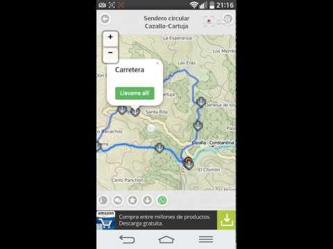 app rutas senderismo gratis