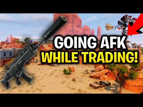 Going AFK with my *NEW* Suppressed Nocturno! (Scammer Get Scammed) Fortnite Save The World