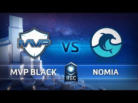 MVP Black vs Nomia vod
