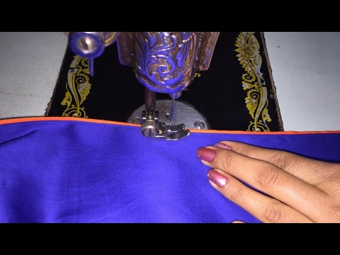 Attach Piping on Slits (Chaak) of kurti