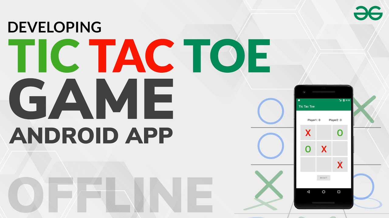 How to Make Tic Tac Toe Game (Offline Mode) Android App?