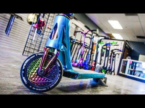 RAYMOND WARNER CUSTOM PRO SCOOTER BUILD!