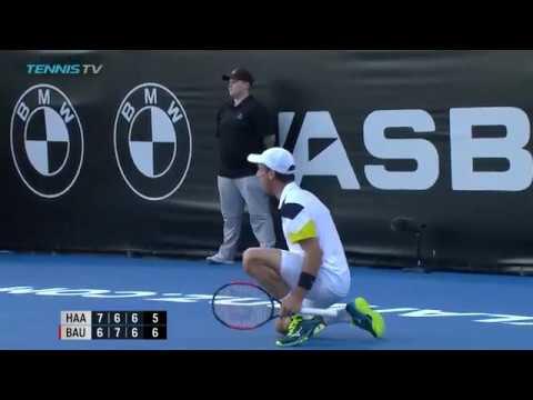 Marathon match! Robin Haase vs Roberto Bautista Agut   ASB Classic Auckland Highlights