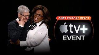 CNET editors react to Apple's TV Plus event