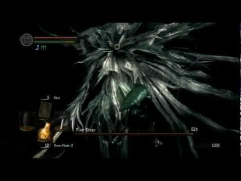 Dark Souls: 4 Kings kill and Kaathe Dialog