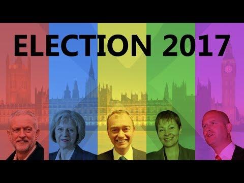 UK GENERAL ELECTION 2017 - BRIGHTON PAVILION CONSTITUENCY DECLARATION