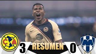 America VS Monterrey 3-0 (Liga Mx)