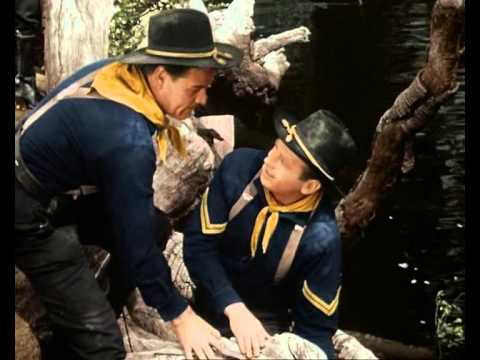 Rin Tin Tin and the Raging River in color with Lee Van Cleef