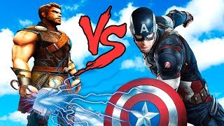 THOR vs CAPTAIN AMERICA - EPIC BATTLE (THOR RANGNAROK vs WINTER SOLDIER)