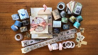 What to do with WASHI TAPE? Washi Tape Share and Project Idea