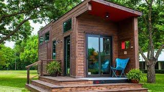 Absolutely Stunning Single Loft Tiny House From Texzen Tiny Homes