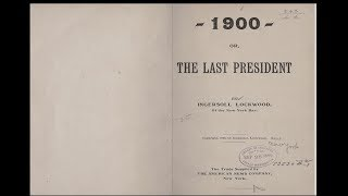 Just plain bizarre! - 124 year old books with VERY weird parallels to 2016-17